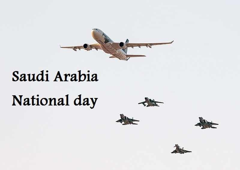 Saudi Arabia National day Aerobatics & Pyrotechnics Show