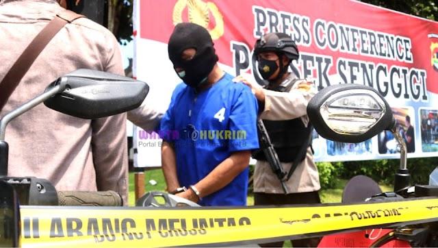 Gelapkan 46 Unit Kendaraan Bermotor, Mantan Karyawan Perusahan Kontraktor Ditangkap