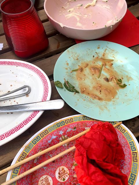 Empty plates, Ling Ling's TOLA Peckham