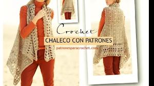 Cómo tejer un chaleco fácil  a crochet