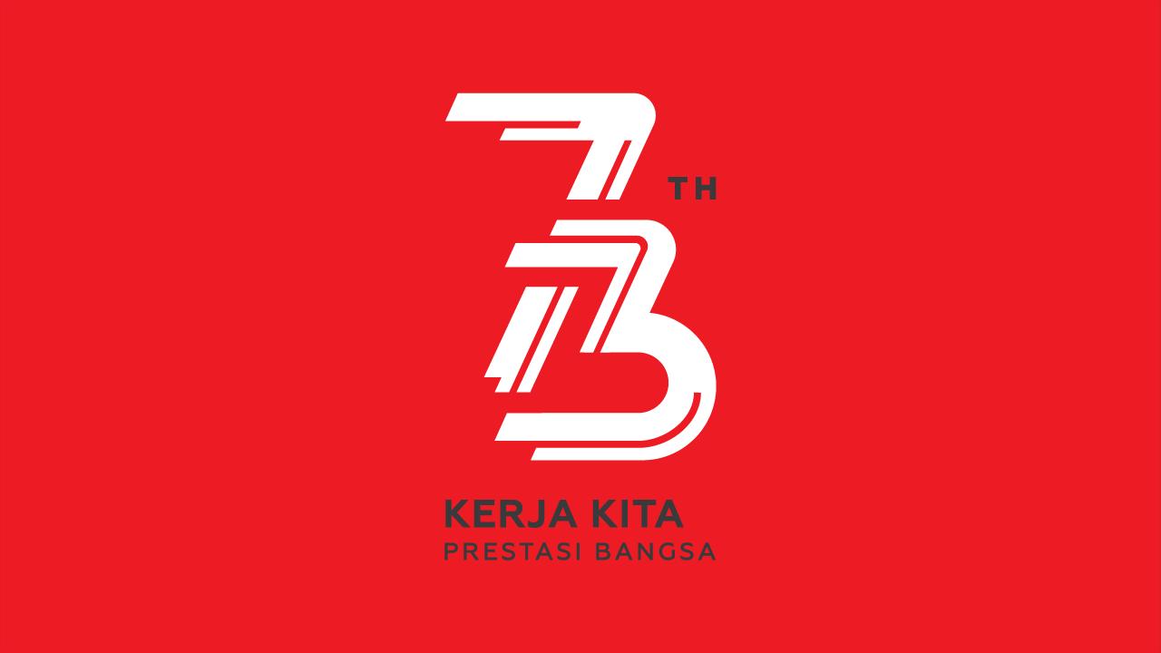 Logo Resmi Peringatan HUT RI ke 73 tahun 2020 237 Design