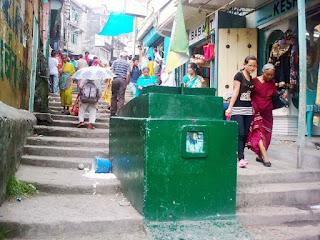 C K Chowk in Kalimpong
