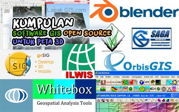 Kumpulan Software GIS Open Source Terbaik untuk Peta 3D