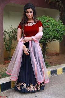 Actress Aathmika in lovely Maraoon Choli ¬  Exclusive Celebrities galleries 076.jpg