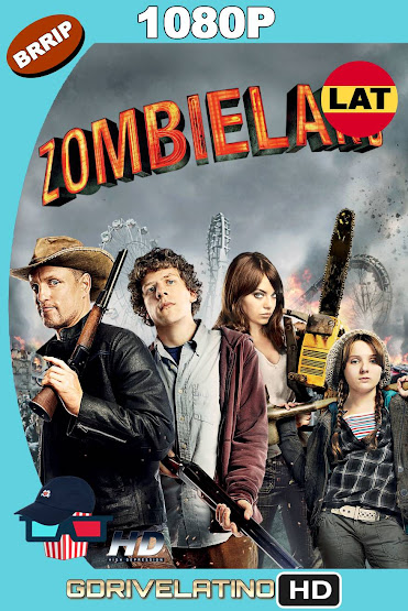 Zombieland (2009) BRRip 1080p Latino-Ingles MKV