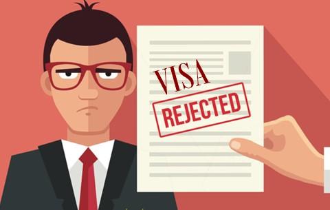 Les 06 motifs courants de refus de visa étudiant
