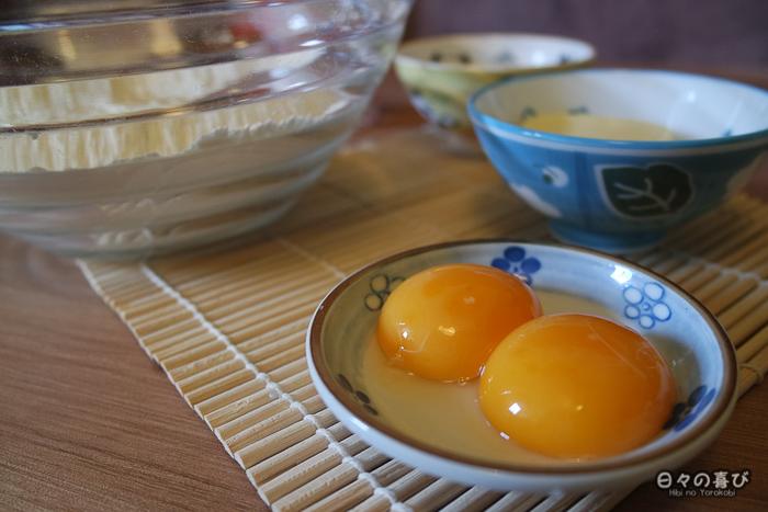 jaune d'oeuf recette melon pan
