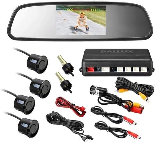 DALLUX PS4002 Car HD Rearview Mirror Monitor Video