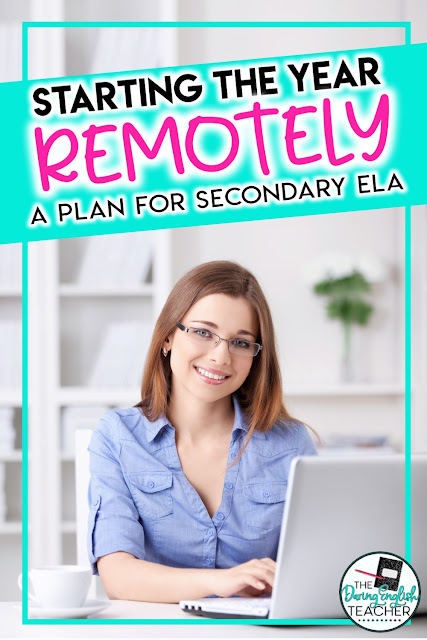 Back to school teaching remotely ideas