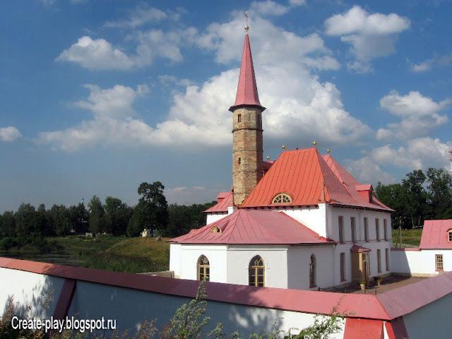 Приоратский дворец, Гатчина