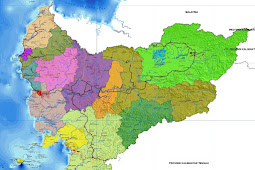 Peta Kalimantan Barat HD Lengkap dan Keterangannya