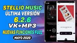 STELLIO MUSIC PLAYER PRO APK 6.2.6 VK+MP3 ULTIMA VERSION