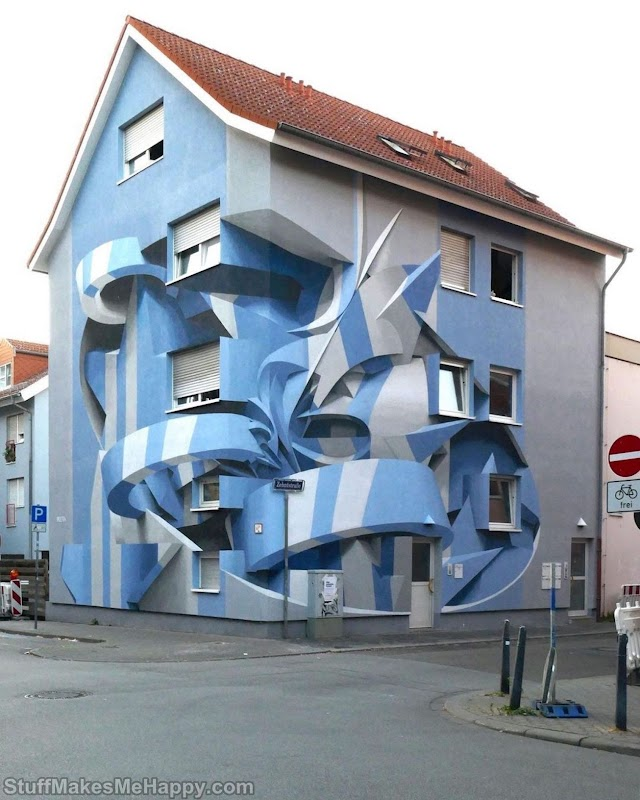 Artist Peeta Transforms the City with His 3D Optical Illusions