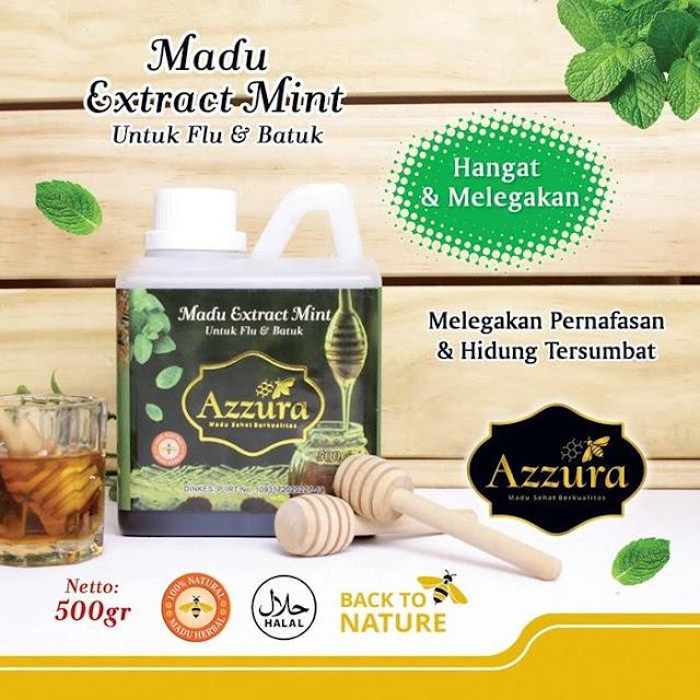 Madu Azzura Extract Mint 500 gr