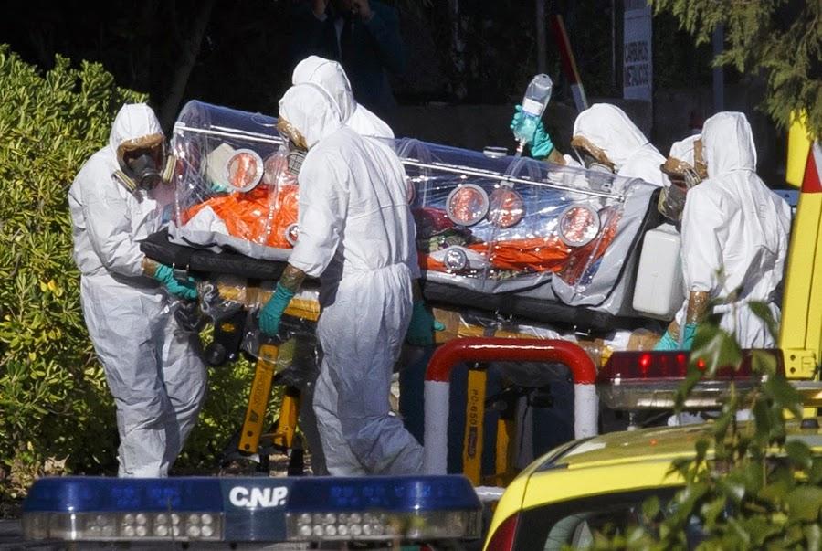 El traslado de un infectado por el ébola