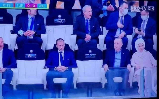 Euro 2020: Στο γήπεδο ο Ερντογάν για το Τουρκία – Ουαλία