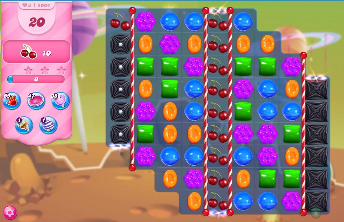 Candy Crush Saga level 5004