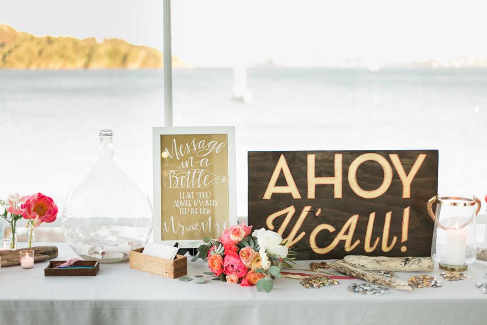 Mariage: mariage nautique