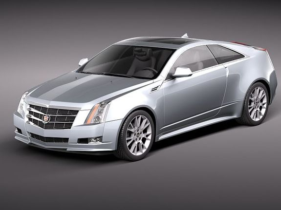 2017 Cadillac Cts Coupe Luxury Sports Car