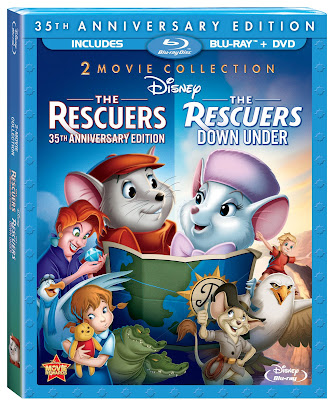 The Rescuers & Rescuers Down Under