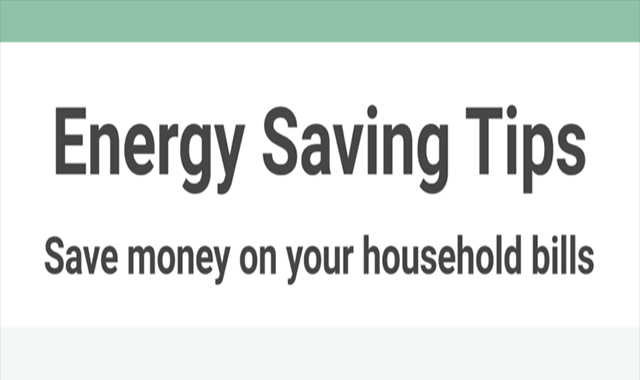 Energy Saving Tips save money on your household utility bills