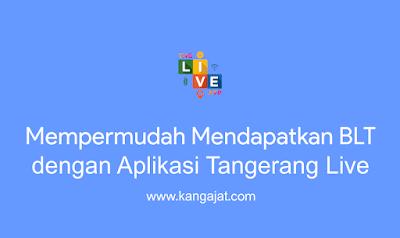 aplikasi tangerang live