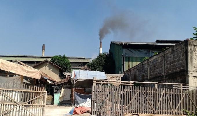 Pencemaran Abu Batu Bara PT Cipta Paperia Dikeluhkan Warga Sekitar