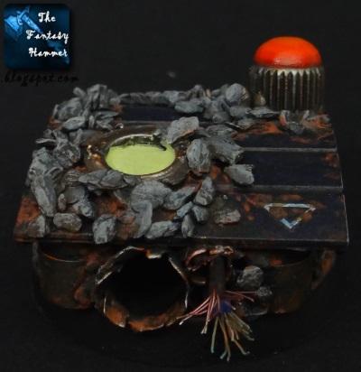 Warhammer 40k Urban Base WiP