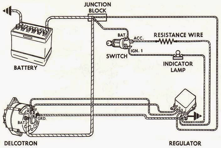 Delco 1 Wire Alternator Tags Wiring Diagram 4 Outstanding Manual Guide