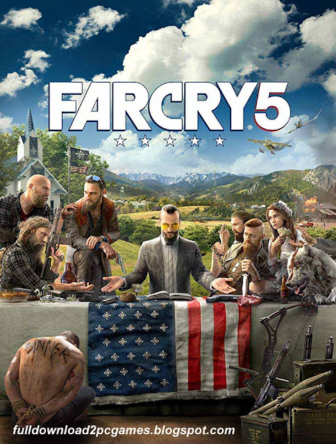 Person Shooter Video Game Developed By Ubisoft Montreal Far Cry 5 Free Download PC Game