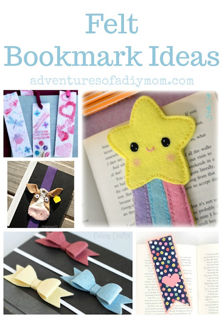 Felt Bookmark Ideas