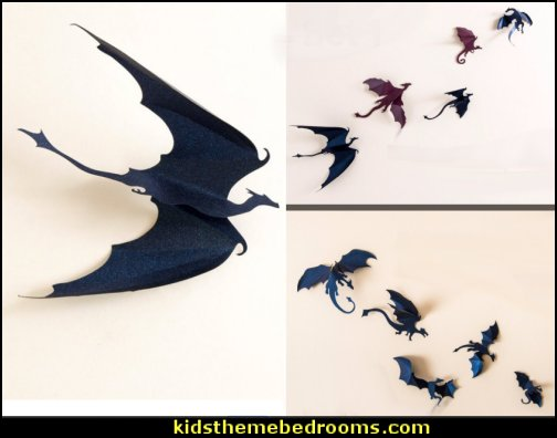 Game of Thrones inspired 3D Dragon Wall Art