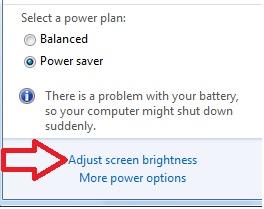 Meredupkan dan mengatur kecerahan layar laptop Cara Praktis Meredupkan Layar Laptop Dengan Sekali Tekan