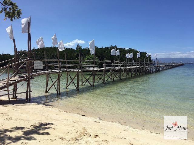 Olango Island, Cebu I Justmom Travels 2020 - Casa Blanca by the Sea Resort - Boardwalk