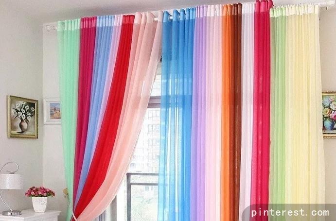 Pemilihan Warna Gorden Menetukan Nuansa atau Suasana Ruangan