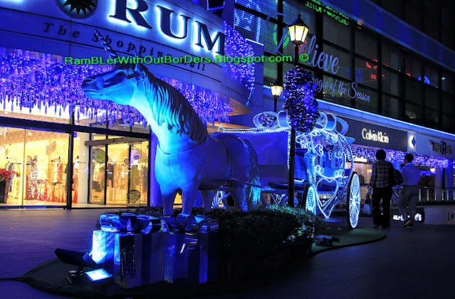 Christmas displays and decorations, Forum Shopping Mall, Orchard Road, Singapore