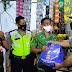 Patroli Skala Besar, Polres Serang Kota Berikan Paket Sembako
