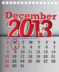 Cyber Monday 2013_Calendar