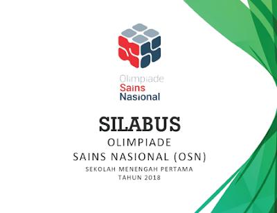 Silabus OSN SMP 2018