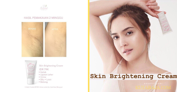 REVIEW dan MANFAAT SA NATUREL SKIN BRIGHTENING CREAM BT SHANDY AULIA