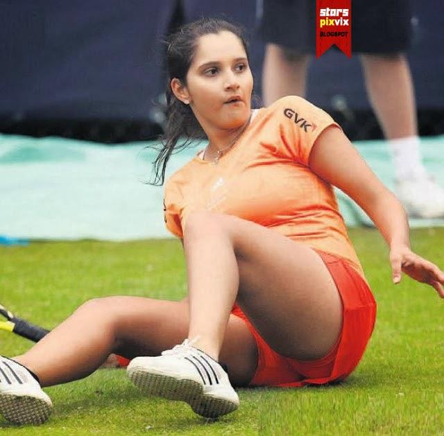 Unseen Sania Mirza's Oops Moments On Tennis Court Wardrobe Malfunction