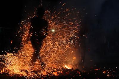zapin api dance in bengkalis