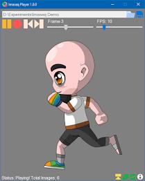 Imaseq Player - Create Gif And Play Sprites Screenshot 2