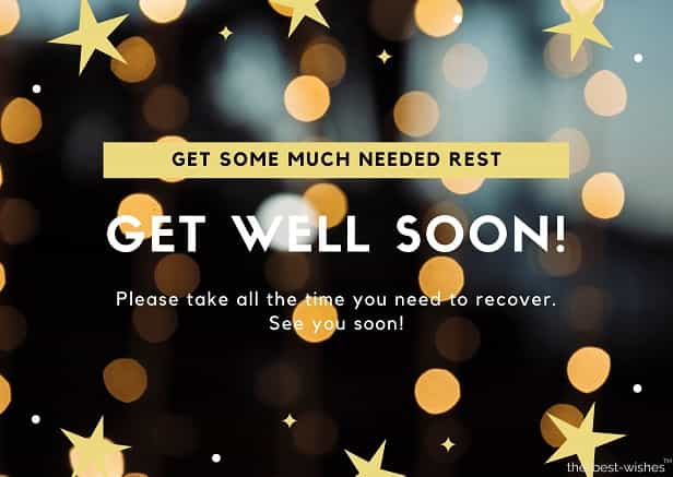 get well soon messages for lover