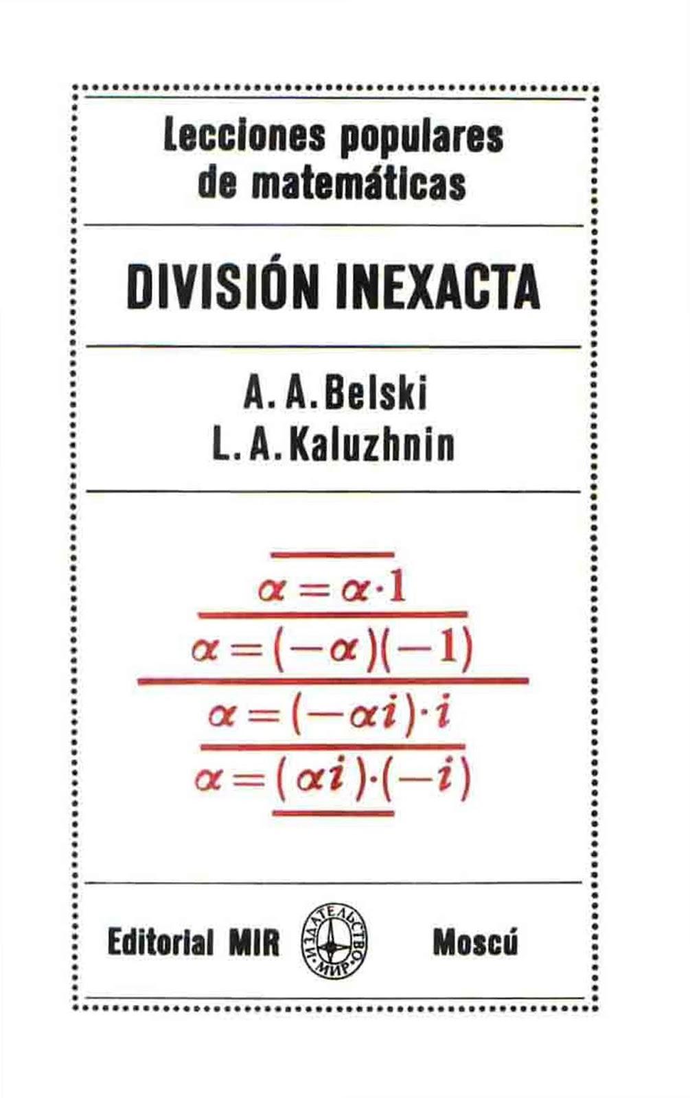 División Inexacta – A. A. Belski & L. A. Kaluzhnin