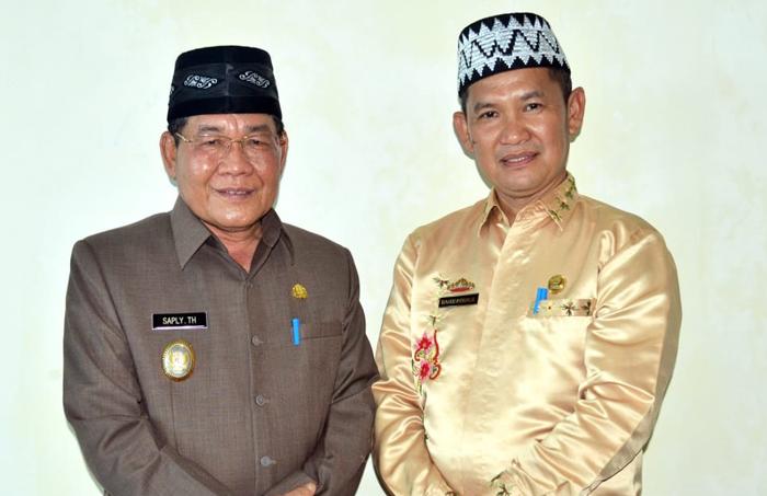 Tindaklanjuti SE Polda Lampung, Dinas  PMD Mesuji Dorong Kades Pasang Himbaun Anti Korupsi