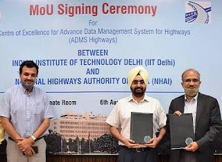 NHAI signs MoU with IIT Delhi