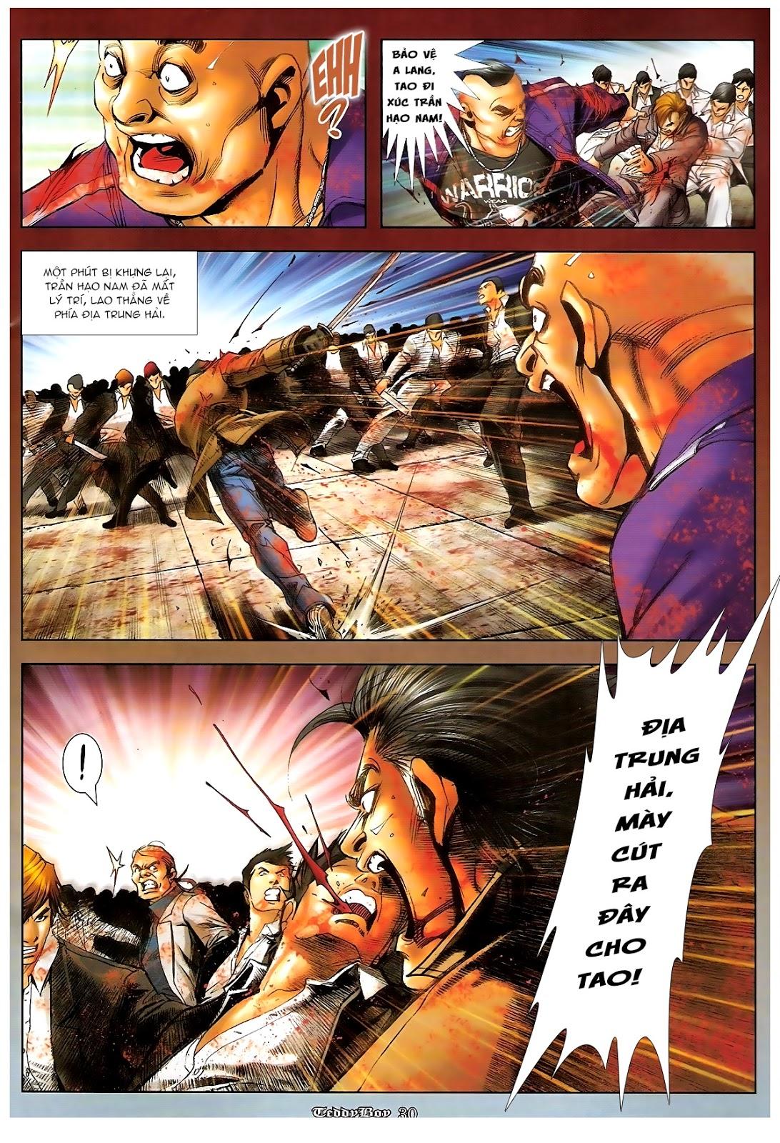 Người Trong Giang Hồ - Chapter 1235: Đồng qui ư tận - Pic 26