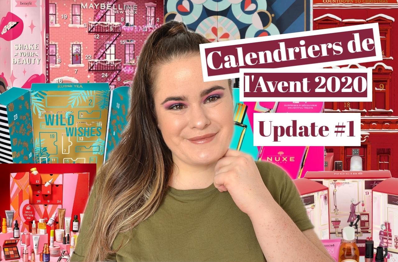 Guide des calendriers de l'avent beauté 2020 update 1
