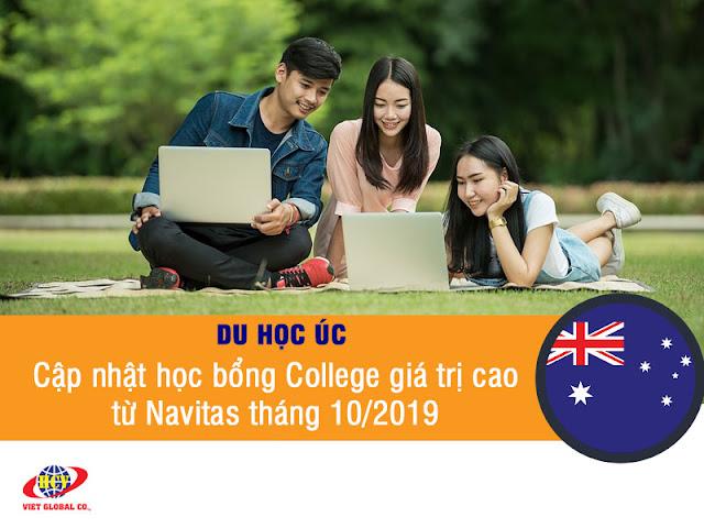 Du học Úc: Cập nhật học bổng College giá trị cao từ Navitas tháng 10/2019